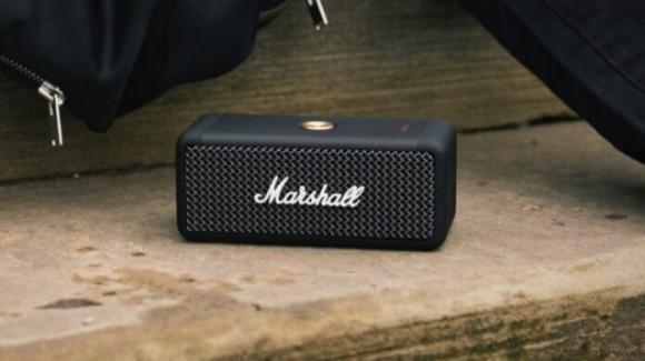Marshall Emberton: in commercio lo speaker a prova d'acqua iper autonomo