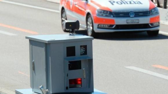 Lugano: preso dall'autovelox ritorna e ci tira contro una molotov