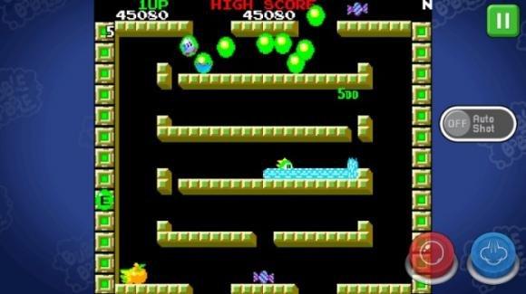 Bubble Bobble: arriva su Android il mitico platform arcade anni '80