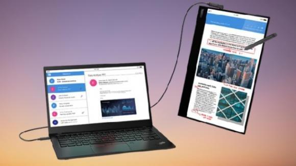 """ThinkVision M14t: annunciato il nuovo display """"secondario"""" di Lenovo"""