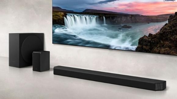 HW-Q950T e HW-Q900T: da Samsung le soundbar in sinergia con l'audio delle TV