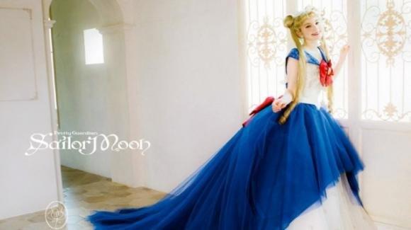Mariarosa ha creato gli abiti da sposa ispirati a Sailor Moon