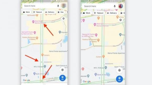 Google Maps: su Android si testa la segnalazione dei semafori