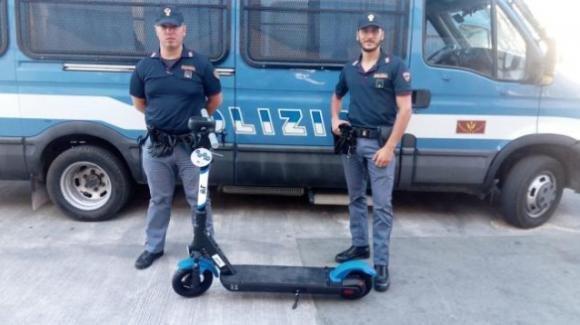 Bari, furto di monopattini: ritrovati i due mezzi rubati