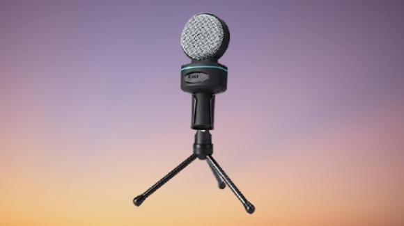 AUKEY MI-W1: microfono a condensatore con treppiedi
