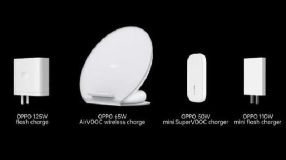 Oppo: nuovi caricabatterie ultracompatti e innovative tecnologie di fast charge