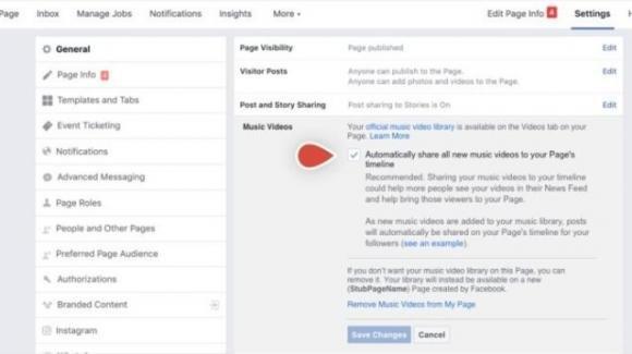 Facebook entra a gamba tesa contro YouTube, con i video musicali