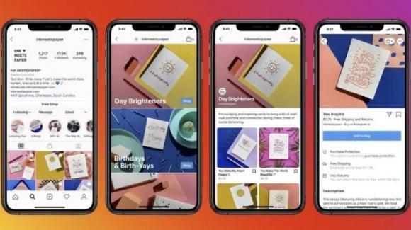 Instagram: in roll-out internazionale Shop. A inizio Agosto tocca a Reels
