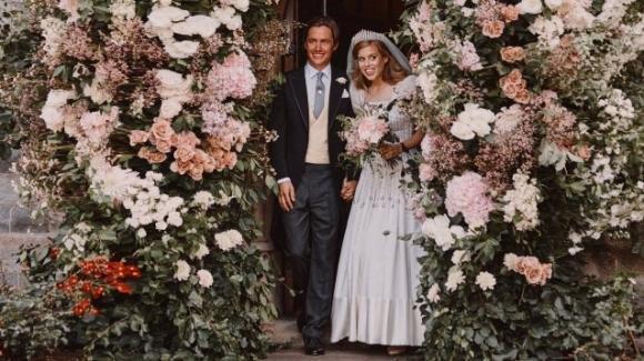 Le prime foto del matrimonio di Beatrice di York