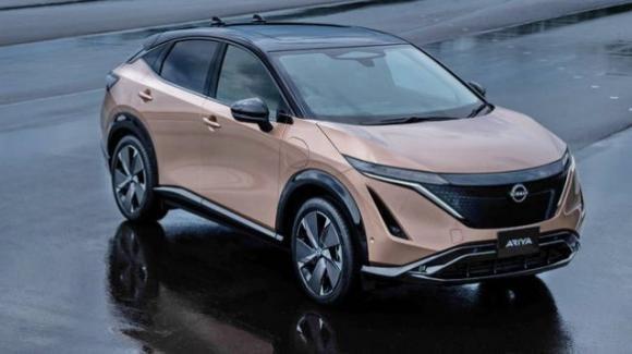 Nissan Ariya: ufficiale il crossover 100% elettrico con aggiornamenti OTA
