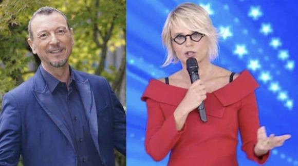Sanremo 2021, Maria De Filippi potrebbe esserci: a rivelarlo è Amadeus