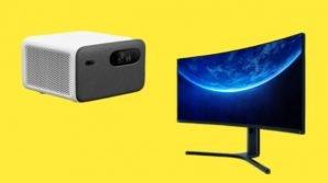 Xiaomi annuncia un nuovo proiettore smart Mijia ed un maxi display curvo da gaming