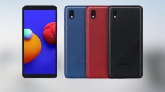 """Galaxy A01 Core: ufficiale il """"muletto"""" entry level di Samsung"""