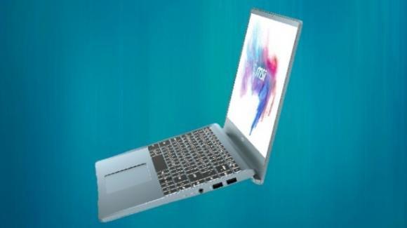Modern 14: MSI aggiorna il notebook business, ora anche con AMD 4000 series
