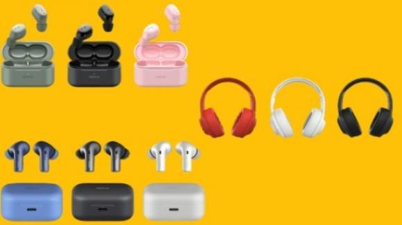 Nokia: ufficiali nuovi auricolari true wireless e un paio di cuffie ibride