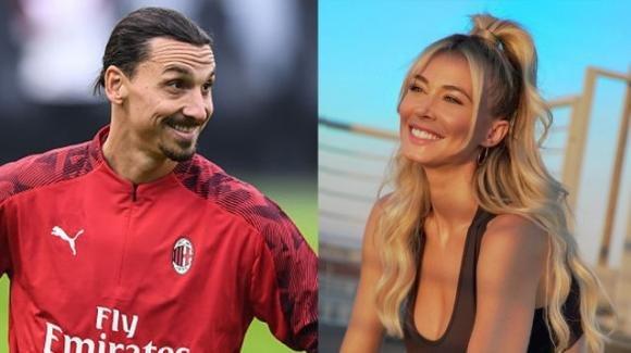 Milano, Ibrahimovic a cena con Diletta Leotta in segreto