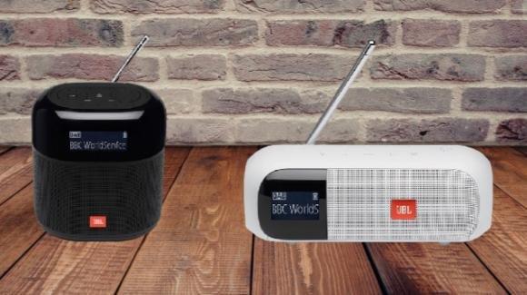Turner 2 e Turner XL: ufficiali le radio (FM e DAB+) smart di JBL/Samsung