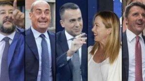 Sondaggi politici: in perdita Salvini e Meloni, ripresa per M5S e PD