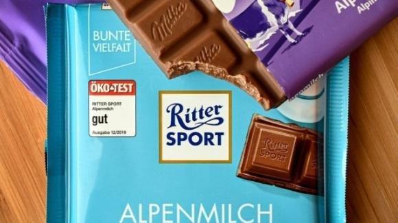 """Germania: Milka perde la causa con Ritter Sport, l'unica che potrà vendere cioccolato """"quadrato"""""""