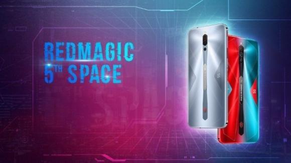 Red Magic 5S: ufficiale il gaming phone low cost con 5G e 16 GB di RAM