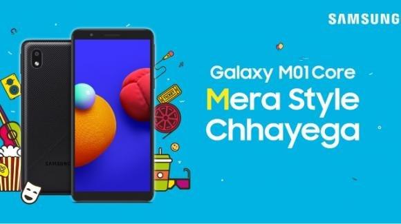 Galaxy M01 Core: da oggi in vendita il nuovo entry level di Samsung