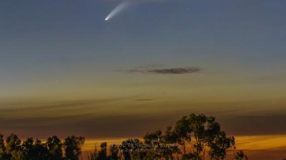 CometaNeowise: dal primo agosto non sarà più visibile