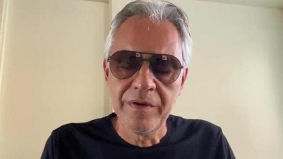 Coronavirus: arrivano le scuse di Andrea Bocelli dopo le polemiche per le sue dichiarazioni al Senato