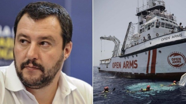 Open Arms, Salvini: