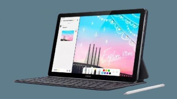 MatePad 10.8: Huawei presenta il suo primo tablet con Wi-Fi 6