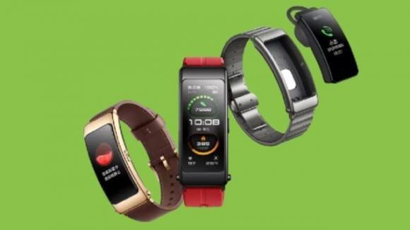 TalkBand B6: la nuova edizione della smartband Huawei che diventa auricolare