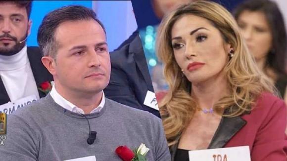 Uomini e Donne, Ida Platano conferma la crisi con Riccardo
