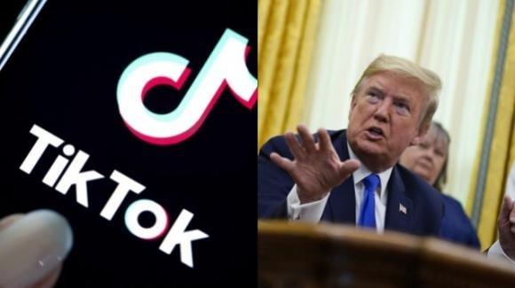 Trump minaccia il ban di TikTok negli Usa, e non lascerà che Microsoft compri l'app