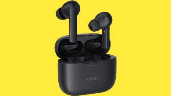 AUKEY EP-N5: auricolari earbuds Bluetooth con microfono incorporato