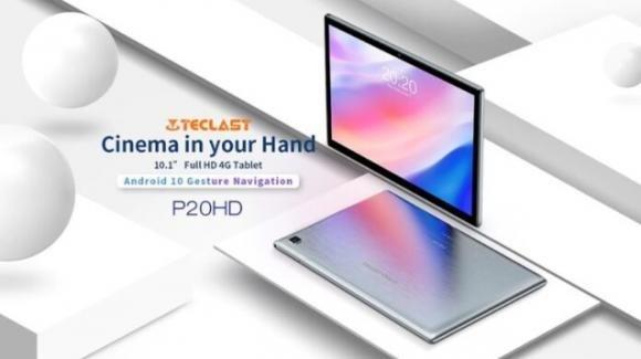 Teclast P20HD: già in promo il nuovo tablet low cost con 4G e maxi batteria