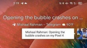 Telegram: in test (anche pubblico) le Chat Bubble di Android 11