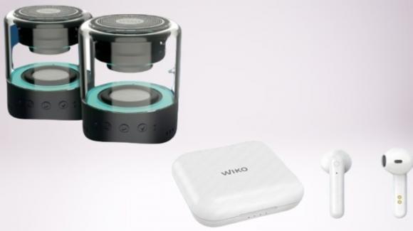 Da Wiko gli auricolari senza fili WiSHAKE Pocket e il sistema 2-in-1 WiSHAKE Vibes