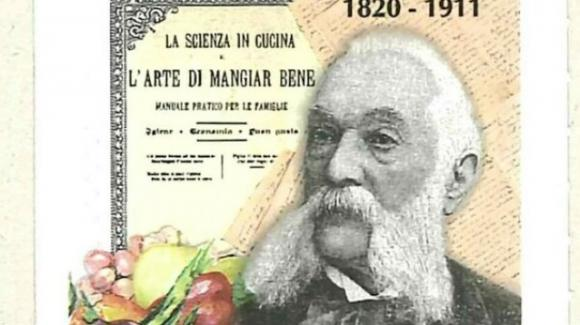 Un francobollo ricorda Pellegrino Artusi, a duecento anni dalla nascita