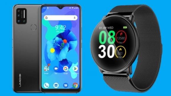 Umidigi presente l'entry level 4G Umidigi A7 e lo smartwatch elegante Uwatch U2S