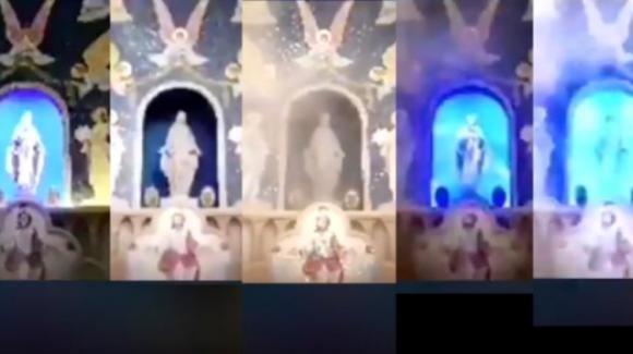 Beirut, tra le incertezze sull'esplosione un punto fermo: la Vergine che s'illumina