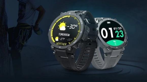 Kospet Raptor: ufficiale lo smartwatch rugged per le attività in outdoor