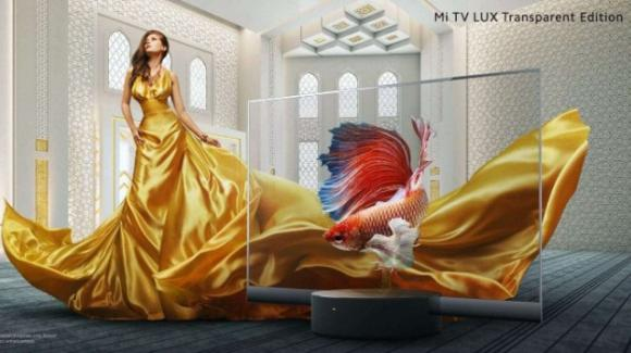 Xiaomi Mi TV LUX Transparent Edition, la prima TV trasparente prodotta in serie
