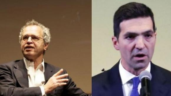 """Cena fascista, Enrico Mentana attacca il parlamentare Acquaroli: """"Candidato impresentabile"""""""