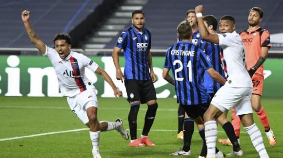 Champions League: beffa finale per l'Atalanta, passa il PSG