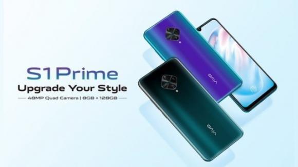 Vivo S1 Prime: ufficiale il medio-gamma con quadcamera e Snapdragon 665
