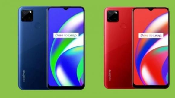 Realme C12: battery phone con tripla fotocamera e fingerprint fisico