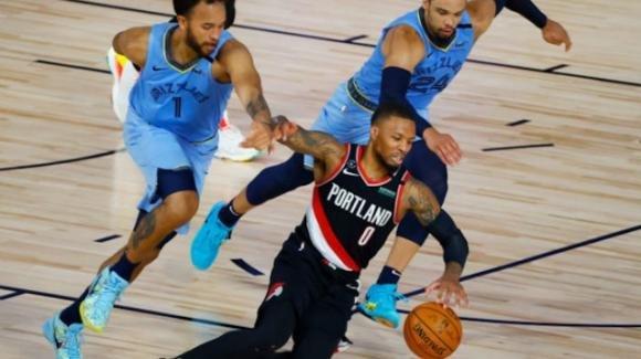 NBA 2020, play-in: i Trail Blazers sorpassano i Grizzlies nel quarto periodo ed avanzano ai playoff