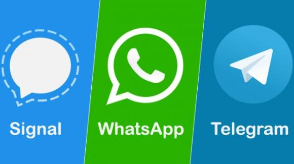 Telegram, Signal, WhatsApp: è sfida ferragostana a suon di novità
