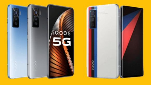 iQOO 5: ufficiale il gaming phone estremo anche in edizione BMW