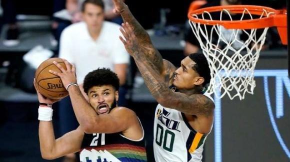 NBA Playoffs 2020: ok le teste di serie, i Nuggets vincono al supplementare sui Jazz