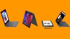 Annunciati i convertibili Lenovo con processori AMD Ryzen 4000 e Intel Tiger Lake